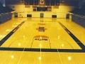University of Illinois Huff Gym (refinish natural with Gym finish)