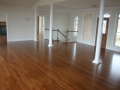 "2 1/4"" Red Oak Floor with custom stain mix"